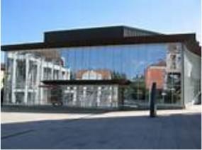 Rathaus und Stadthalle Gersthofen